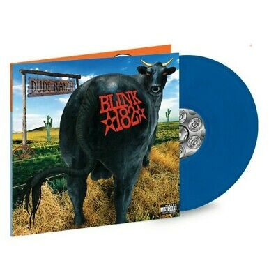 BLINK 182: Dude Ranch - Limited Edition Blue Vinyl LP - NEW • 36.14£