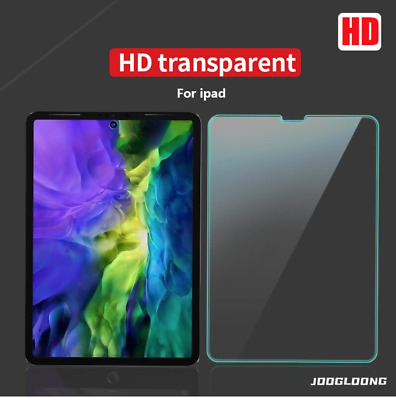 AU9.95 • Buy Tempered Glass Screen Protector For IPad 8th 7th 6th 5th Gen/ Pro 9.7/ Air 1/2/3