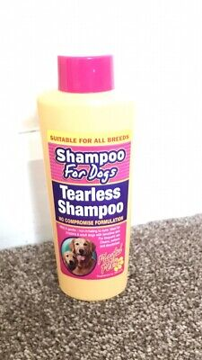 2 X Dog Puppy Shampoo Grooming Pets Dogs Puppies Tearless For All Breeds • 5.99£