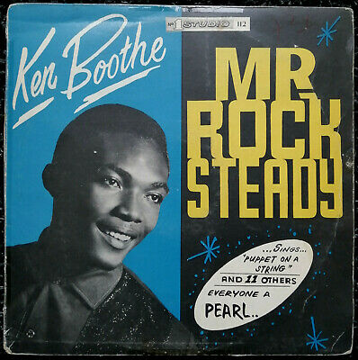 Ken Boothe *** Mr Rock Steady *** Studio One *** Original Ja ***  • 20£