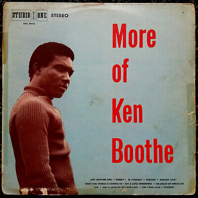 More Of Ken Boothe *** Studio One *** Orig Ja *** 1969 • 20£