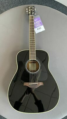 B-Stock Yamaha FG-TA Acoustic Guitar Black • 491£