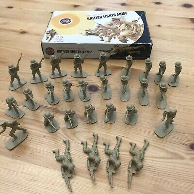 Airfix 1/32 Scale Toy Soldiers British Eighth Army • 4.80£