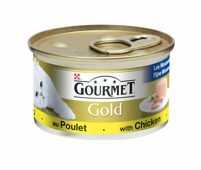 Gourmet Gold Can Chicken Pate 85g (Pack Of 12) • 11.66£
