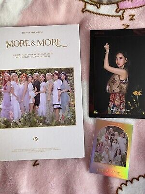 Kpop Twice More & More Album Jeongyeon Cd Plate (no Photocards) • 11£