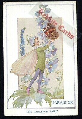 Fairy Larkspur Margaret Tarrant (1920's) Children • 2.99£