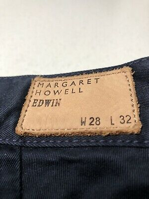 Margaret Howell Navy Chinos Edwin 28x32 • 55£