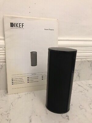 KEF HTS7001 SURROUND / CENTRE CINEMA SPEAKER (X1) Black, Used, Good Condition • 67£