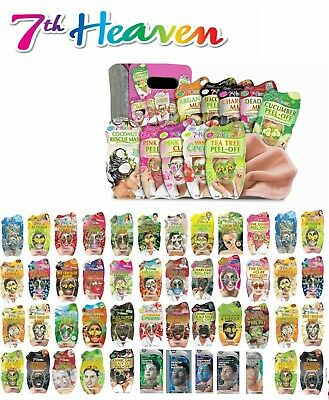 £1.75 • Buy 7th HEAVEN FACE MASKS & PEELS - OFF-FOR ALL SKINS TYPES - SELECT FROM VARIATIONS