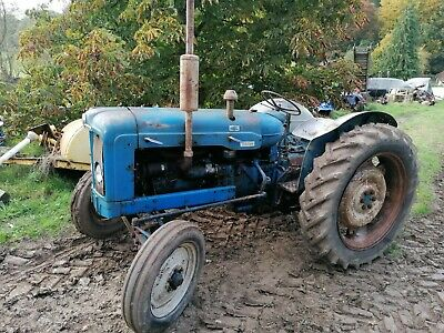 1963 Fordson E1a New Performance Super Major Tractor Vintage Classic NP • 4,500£