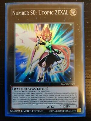 YuGiOh! MACR-ENSE2 Number S0: Utopic Zexal | Super Rare Card |  Limited Edition • 3.50£