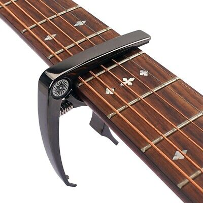 $ CDN10.16 • Buy Guitar Tuner Capo Quick Change Clamp Key For Acoustic Electric Guitar Mandolin