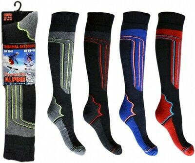 Men's Thermal Long Hose High Performance Alpine Boot Socks Stretchy Compression • 3.69£