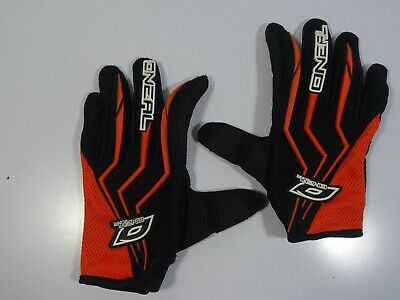 AU18.95 • Buy O'Neal MX Black & Orange Motorcross Gloves