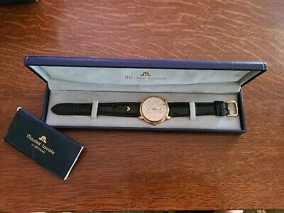 Maurice Lacroix 'Regulator Et Date  In Gold Plated Case Watch • 1,252.90£