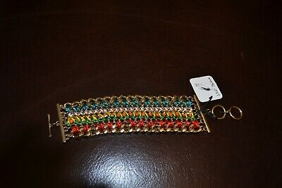 AU25 • Buy Unwanted Gift Women's Bracelet Multicolored Brand New With Tags