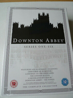 DOWNTON ABBEY The Complete Collection Season 1-6 26x DVD BOX SET SEALED • 29.99£