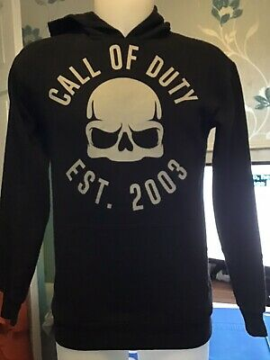 £8.99 • Buy Call Of Duty Hoodie Size X-small With Years Of Cod Games Released On Back