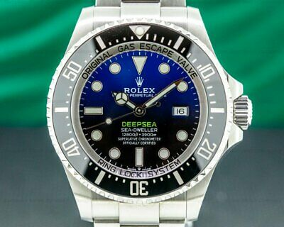 $ CDN20717.30 • Buy Rolex 126660 Sea Dweller Deep Sea D-Blue 2018 WITH BOX AND PAPERS!