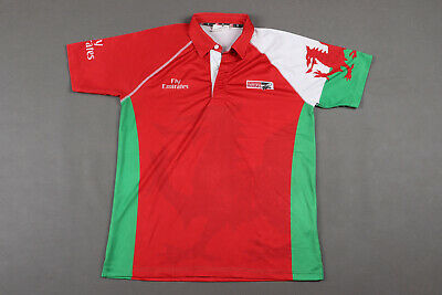 £24.99 • Buy Wales Dubai Sevens Rugby Short Sleeved Shirt Jersey - Size L