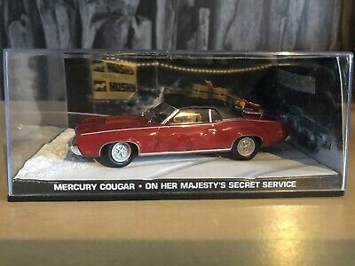 James Bond Car Collection - Mercury Cougar - On Her Majesty's Secret Service Car • 9.99£