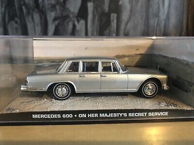 James Bond Car Collection - Mercedes 600 - On Her Majesty's Secret Service Car • 9.99£