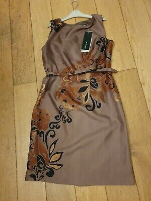 Ladies Size 12 Marks And Spencer Autograph Pure Silk Pencil Dress BNWT • 1.15£