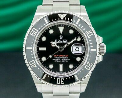 $ CDN21719.75 • Buy Rolex 126600 Sea Dweller 126600 RED 43MM 2020 SS WITH ORIGINAL BOX AND PAPERS!