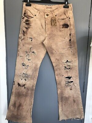 Ladies - Indian Roase - Vintage - Ripped Jeans - Size W31 - Stunning ! • 18£