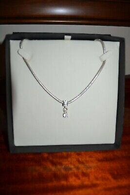 AU30 • Buy Unwanted Gift Silver Necklace With Cubic Zirconia Stone In A Gift Box