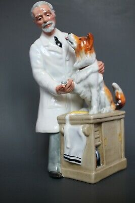 $ CDN132.13 • Buy Royal Doulton Figurine THANKS DOC! Signed HN 2731  Hand Made And Hand Decorated.