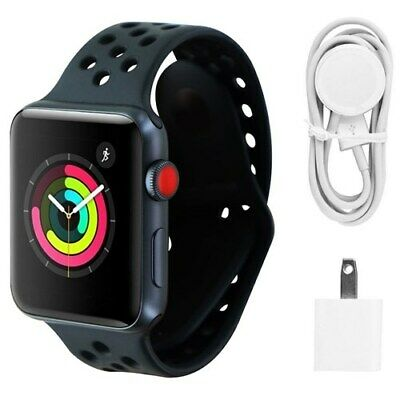 $ CDN390.78 • Buy Apple Watch 3 Nike+ Series (42mm) - MQLD2LL/A Space Gray Aluminum & Black Band