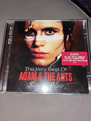 £8.99 • Buy Adam & The Ants -The Very Best Of (Stand & Deliver CD/DVD SONY) PROMOTIONAL COPY