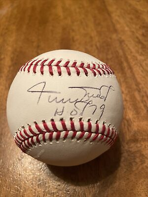 $ CDN13.20 • Buy WILLIE MAYS SIGNED AUTOGRAPHED  With HOF OFFICIAL MAJOR LEAGUE BASEBALL