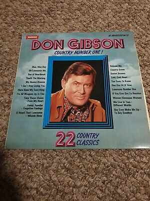 £4 • Buy Don Gibson,  Country Number One  (UK Vinyl LP-WW 5079)