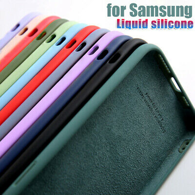 $ CDN3.70 • Buy For Samsung S20 FE Note 20 Ultra S20 S10 A71 A51 Liquid Silicone Soft Case Cover