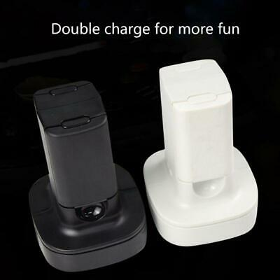 Dual Charger Charging Dock Station Rechargeable Battery For X-box 360 Gamepad • 10.85£