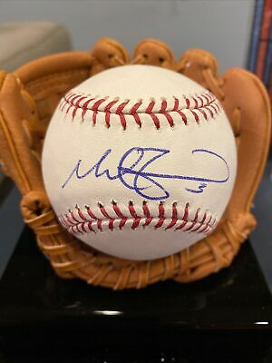 $ CDN26.42 • Buy Mike Zunino Signed Autographed Official MLB Baseball Ball Auto In Person