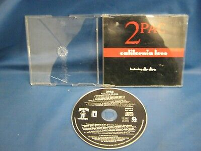 Cd Single 2 Pac California Love 908 • 3.33£