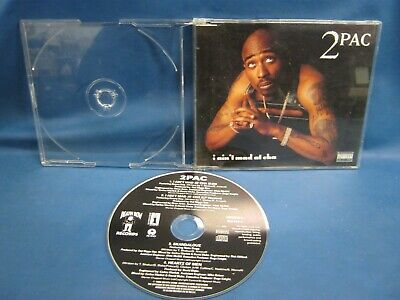 Cd Single 2 Pac I Ain't Mad At Cha 932 • 3.33£