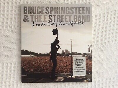 Bruce Springsteen London Calling Live In Hyde Park Live DVD • 12£