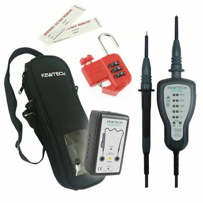 £138.50 • Buy Kewtech KEWISO4 Isolation Kit With KT1720 Voltage Tester Proving Unit And More