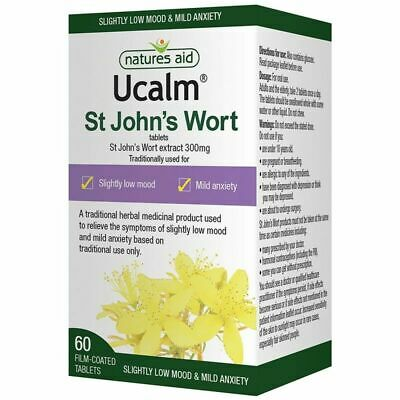 Natures Aid Ucalm 300mg 60 Film-coated Tablets • 7.99£