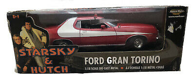 Starsky And Hutch Ford Gran Torino. 1/18 American Muscle. • 110£