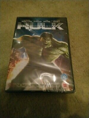 The Incredible Hulk DVD - New And Sealed • 1.49£
