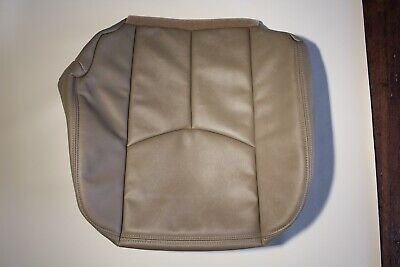$59 • Buy 03-06 Chevy Avalanche Silverado Vinyl Driver Seat Cover Med Neutral Tan