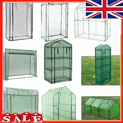 Greenhouse Outdoor New PVC Plastic Garden Plant Grow Tunnel Bag Green House • 37.19£