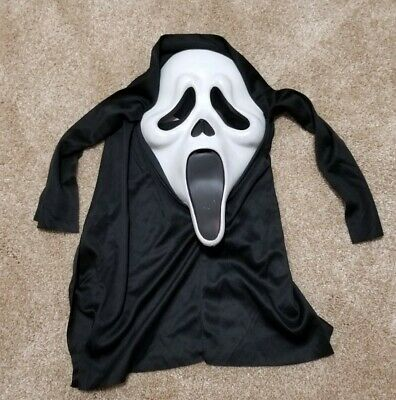 $ CDN40.03 • Buy Vintage SCREAM Ghost Face Rubber Mask By Easter Unlimited, Halloween Costume