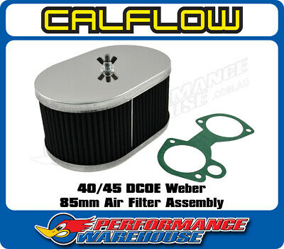 $ CDN76.43 • Buy 40 & 45 Dcoe Weber Carburettor 85mm Sports Air Filter Assembly Washable
