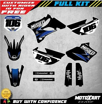AU149.90 • Buy Custom Graphics, Full Kit To Fit YAMAHA YZ 85 2002 - 2014 CLUB Style Stickers